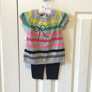 First impressions tunic and legging set